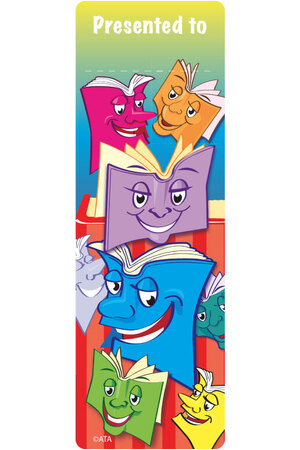Smiley Books - Bookmarks (Pack of 35)