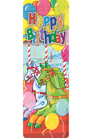 Birthday - Bookmarks (Pack of 35)