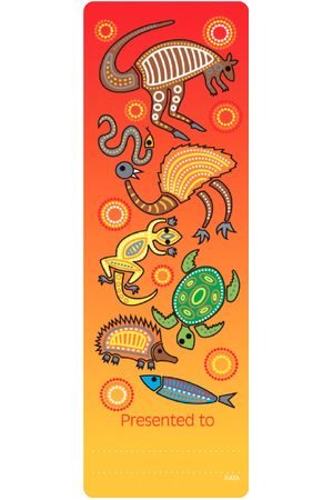 Aboriginal - Bookmarks (Pack of 35)