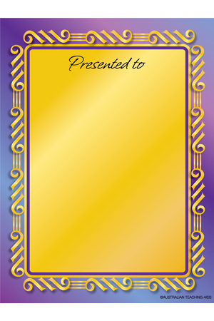 Formal Presentation Large Bookplates (Pack of 4)