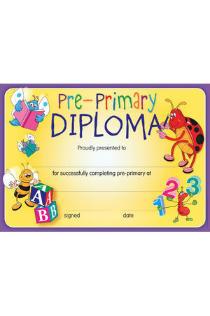 Pre-Primary Diploma - Certificates