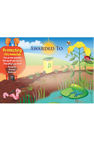Caring for Our Environment - Certificates