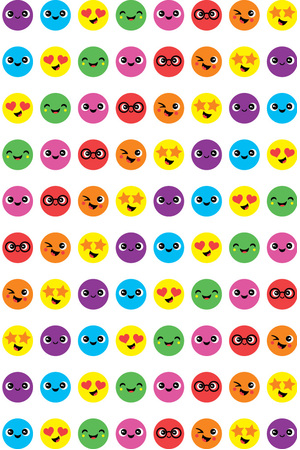 Smile - Dynamic Dots Stickers (Pack of 800)