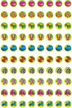 Marine - Dynamic Dots Stickers (Pack of 800)