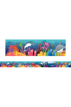 Ocean - Large Borders (Pack of 12)