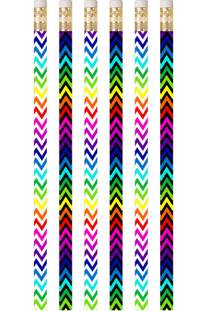 Chevron Colours - Pencils