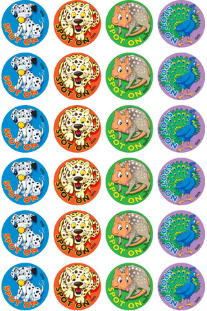 Spot On - Merit Stickers (Pack of 96)