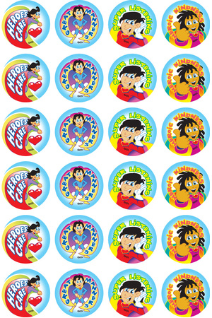Super Manners - Merit Stickers (Pack of 96)