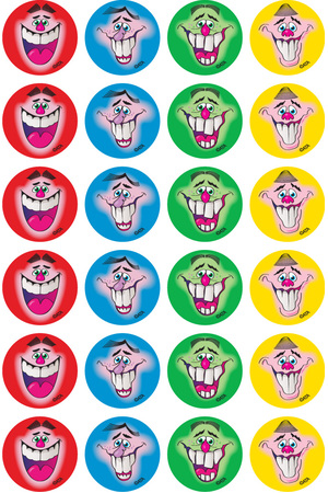 Smiles - Merit Stickers (Pack of 96)