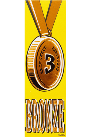 Bronze 3 - Self-Adhesive Vinyl Medal Ribbons