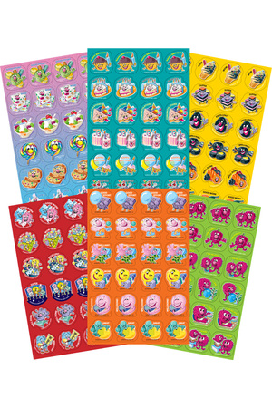 Variety Pack - Scented Shapes Stickers (Pack of 288)
